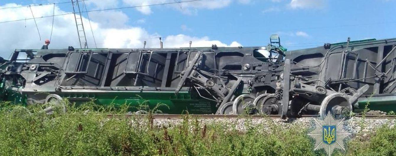 На Одещині частково поновили рух потягів після аварії