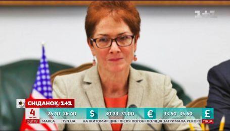 Розповідаємо про Надзвичайну і Повноважну посла США в Україні – Марі Йованович