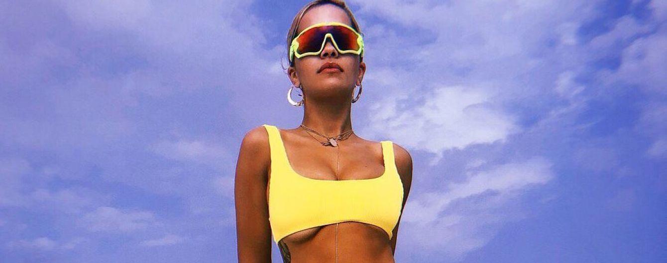 Жовтий або чорний: два пляжних образи Ріти Ори