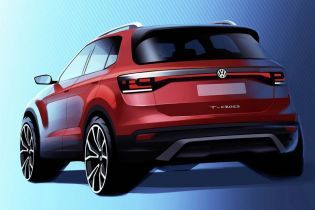 Появились первые эскизы самого маленького кроссовера от Volkswagen