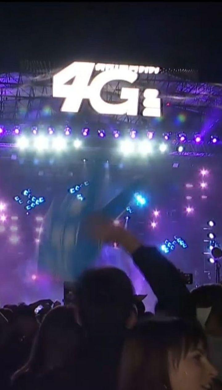 Тысячи людей пришли на Atlas Weekend, чтобы попасть на бесплатный концерт Олега Винника
