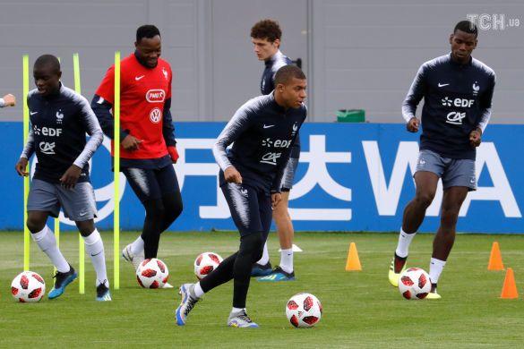 Футболісти збірної Франції