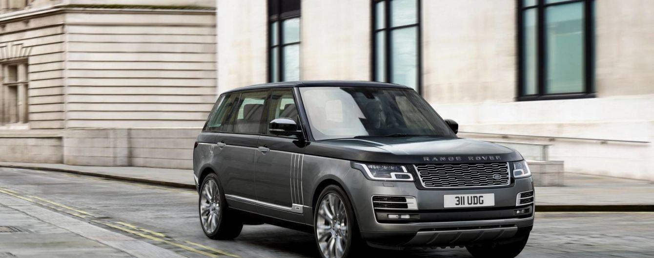 Range Rover отримає нову платформу і гібридні модифікації