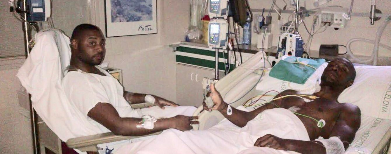 "Экс-футболист ""Барселоны"" показал фото с операции и осудил слухи о махинации с печенью"