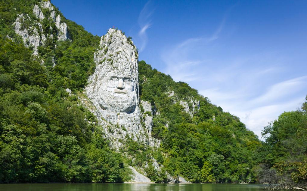 Національний парк Джердап, Дунай, кордон Сербії і Румунії