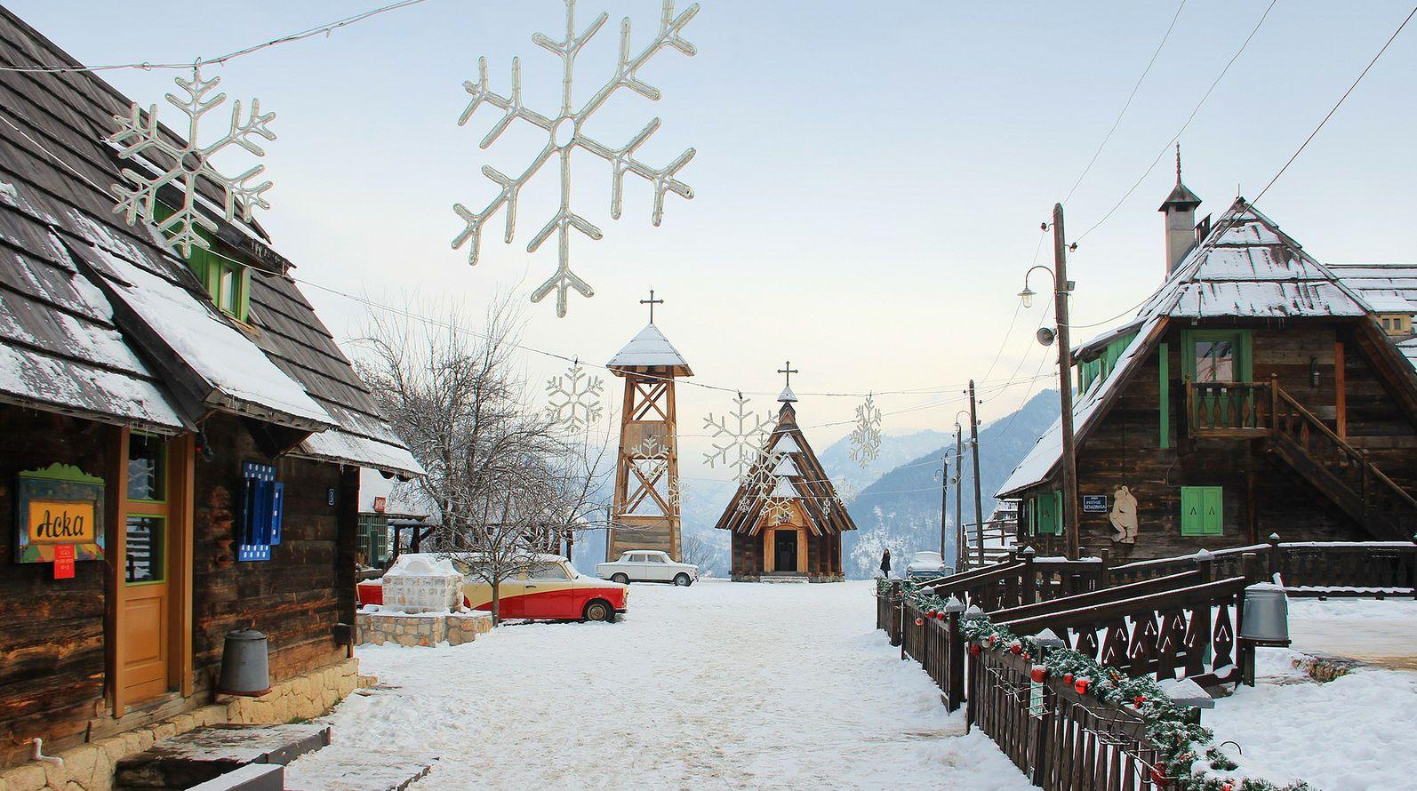 Гірськолижний курорт, Сербія