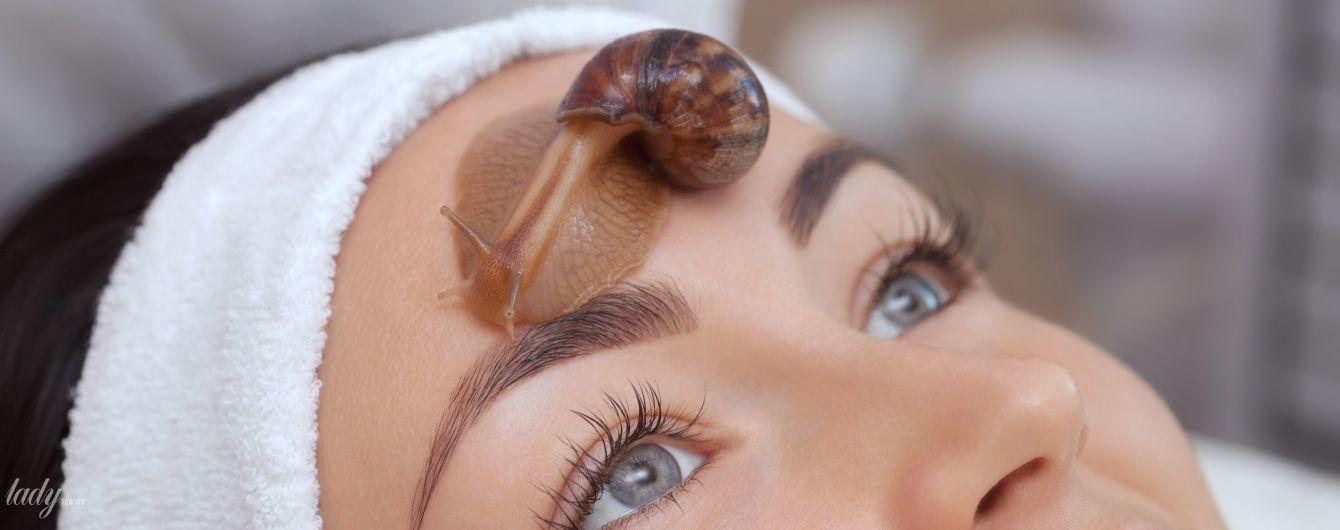 Масаж обличчя равликами