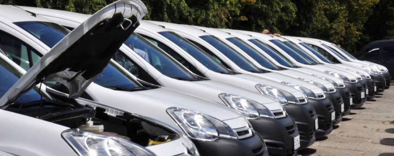 Более 40 автомобилей получили больницы Полтавской области