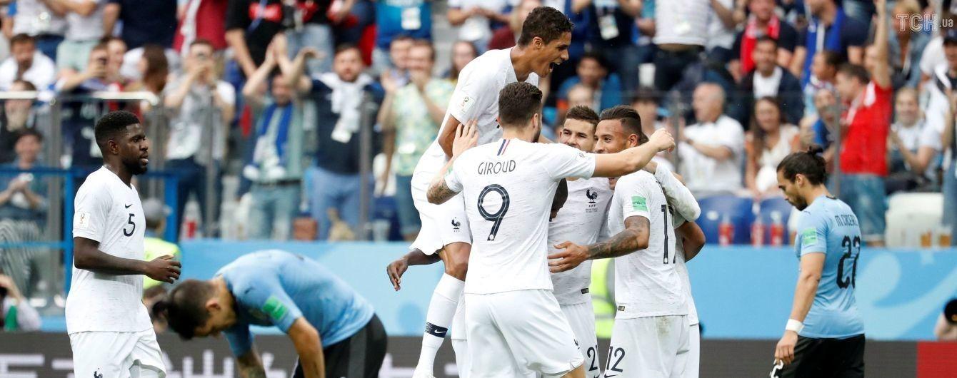 Гол Варана и ляп Муслеры. Франция победила Уругвай и вышла в полуфинал ЧМ-2018