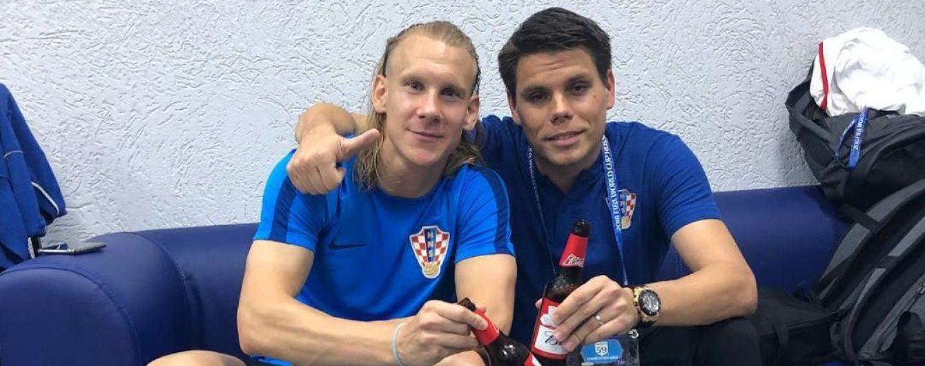 Слава Україні: хорвати Вукоєвич та Віда похизувалися перемогою над збірною Росії