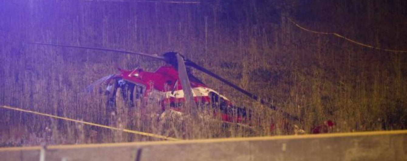 В Чикаго упал медицинский вертолет с пациентом в критическом состоянии