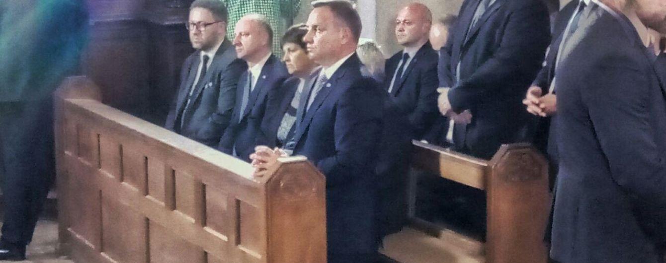 Президент Польши посетил Луцк в годовщину Волынской трагедии