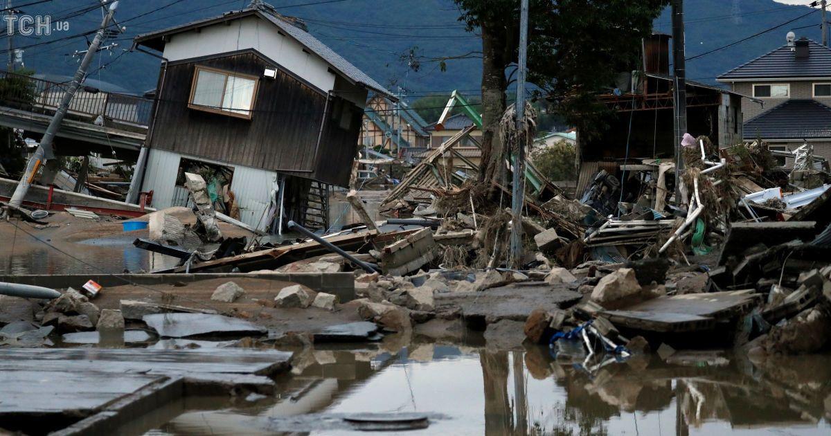 Повінь у Японії @ Reuters