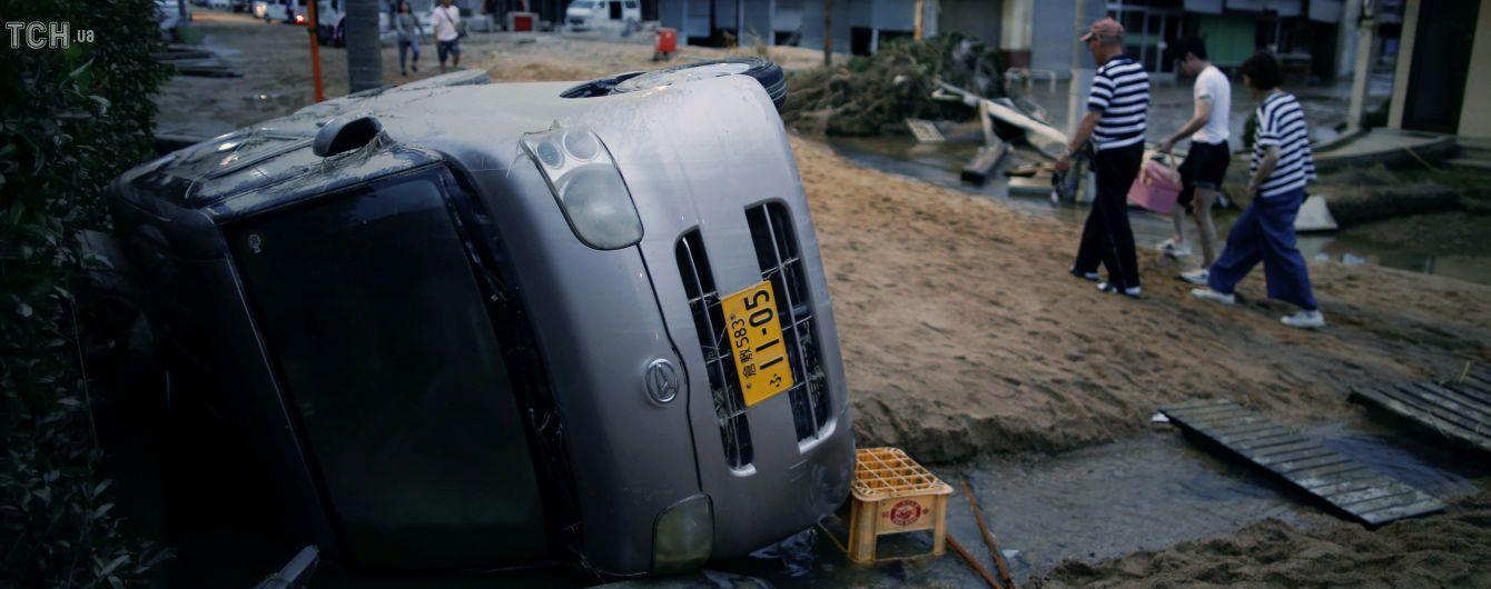 Кількість жертв повені в Японії перевищила 120 осіб