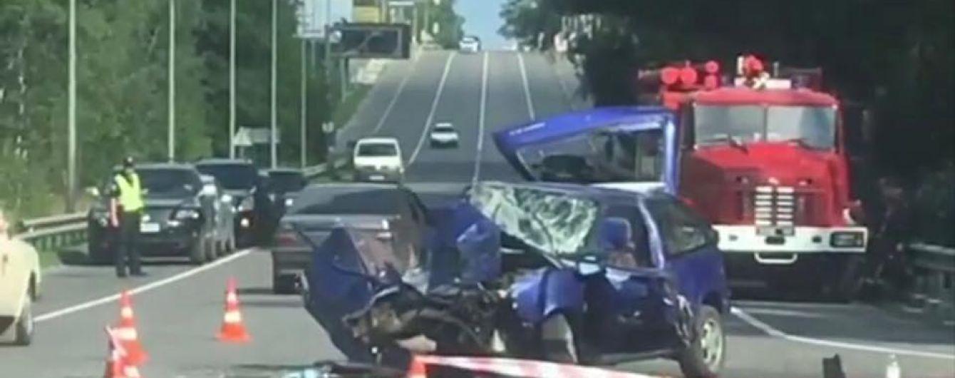 Под Киевом произошли две аварии. Есть погибшие