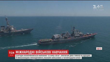 В Одесской и Николаевской областях проведут учения военных из 14 стран