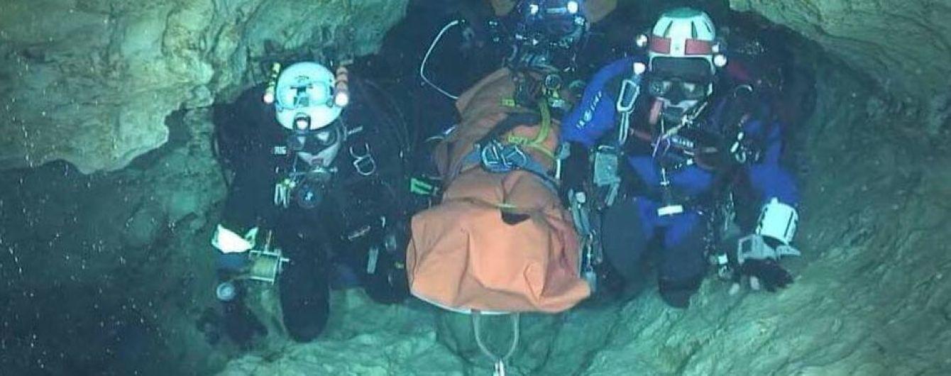 Як відбувається операція із порятунку застряглих у тайській печері дітей. Інфографіка