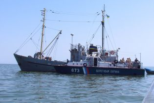 Російська ФСБ за добу затримала в Азовському морі 7 торгових суден