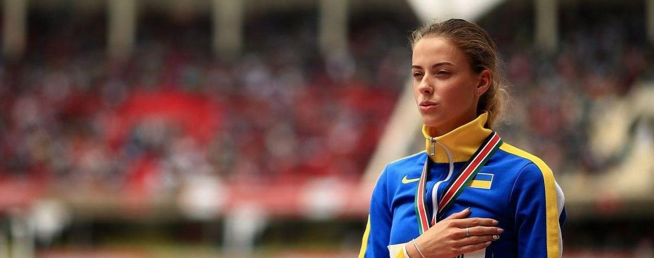 16-летняя украинская прыгунья с рекордом победила на Чемпионате Европы