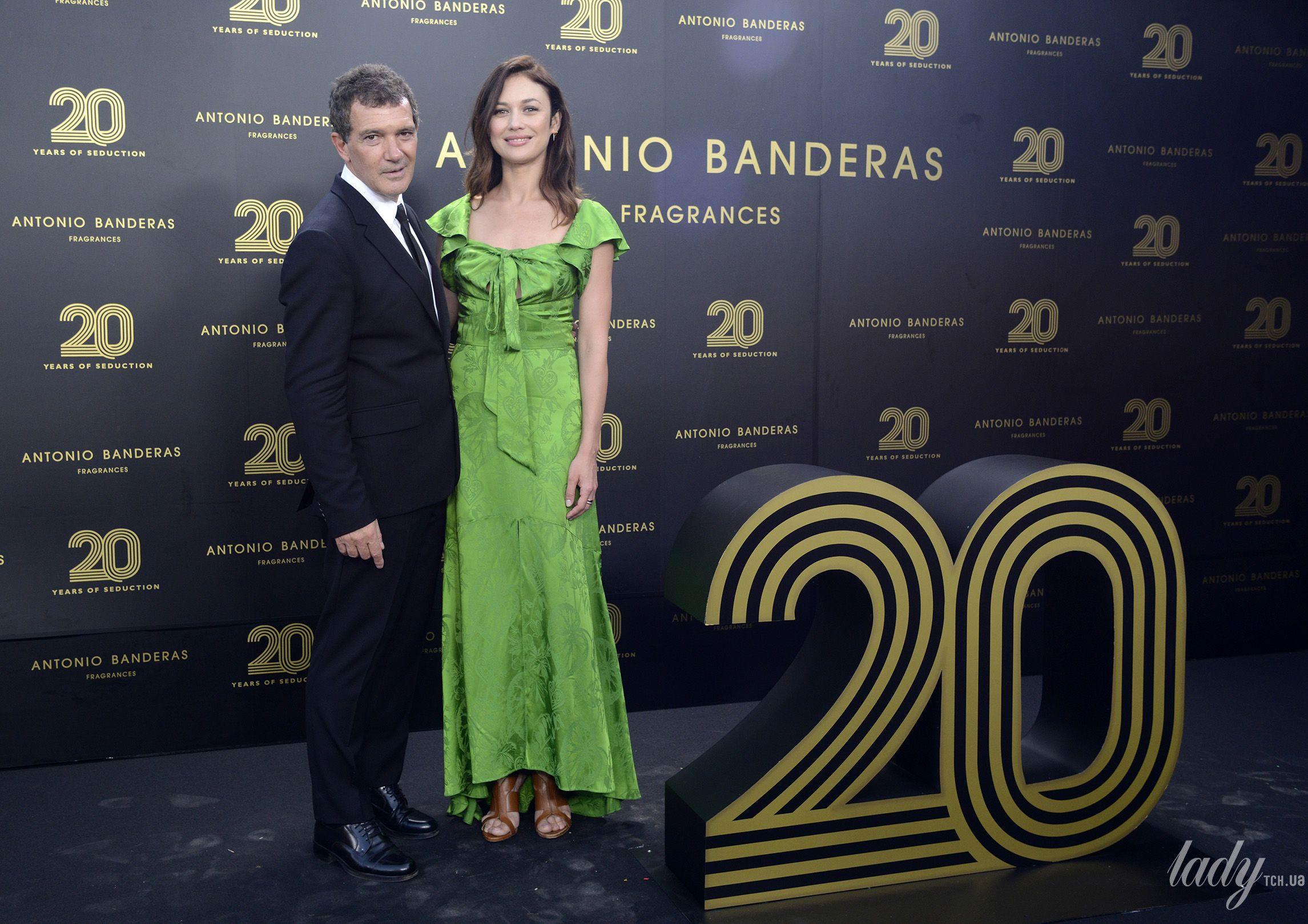 Ольга Куриленко и Антонио Бандерас