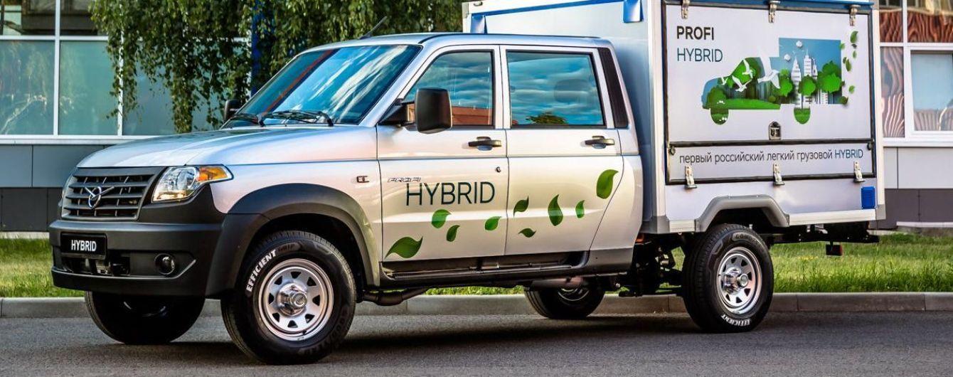 УАЗ выпустит гибридный коммерческий автомобиль