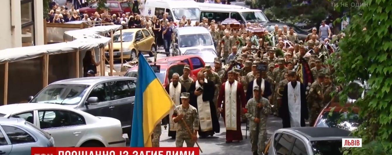 На Закарпатье похоронили жертв трагедии на Ровенском полигоне