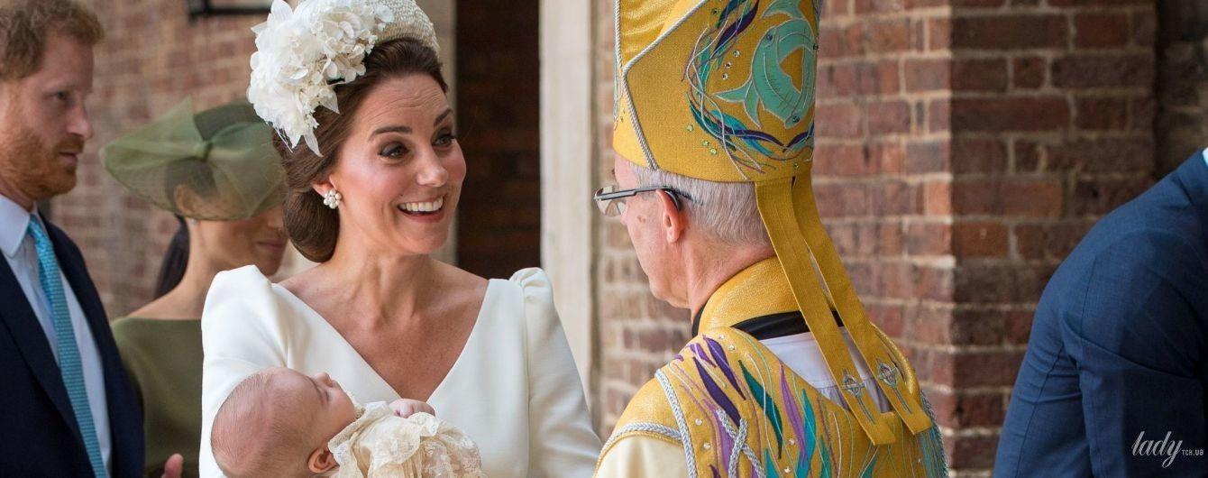 Трое детей и три церемонии крещения: битва образов герцогини Кембридсжкой