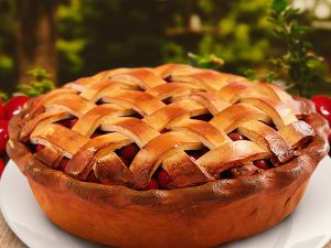 Классический американский вишневый пирог