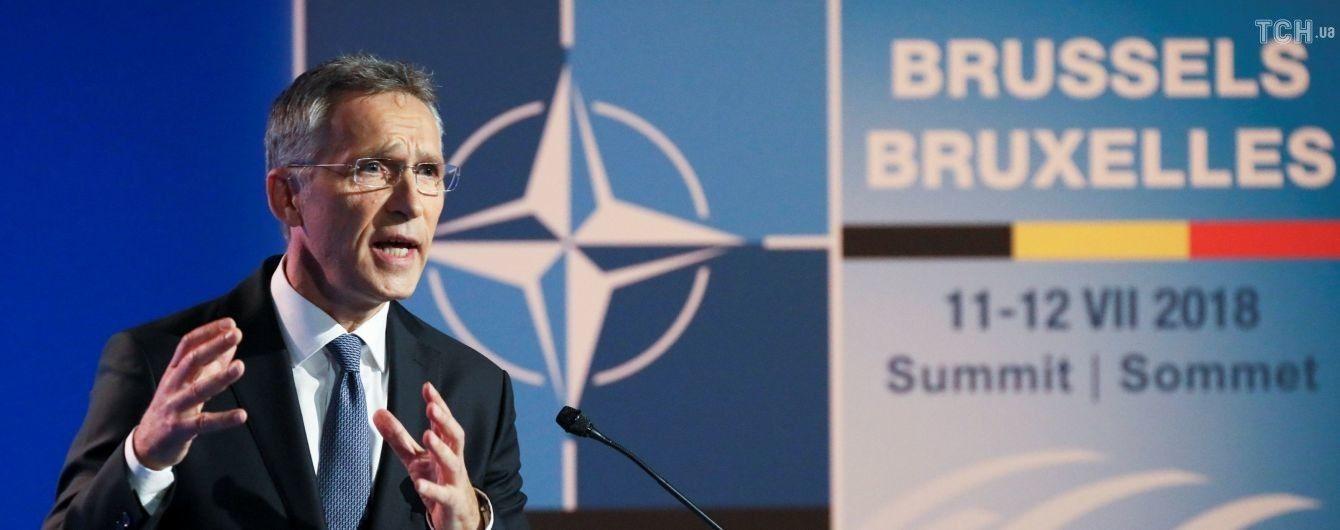 Столтенберг переконує, що жодна країна НАТО не визнає анексію Криму