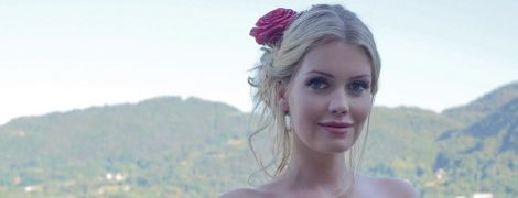 Платье мечты: леди Китти Спенсер хвастается новым образом от Dolce & Gabbana