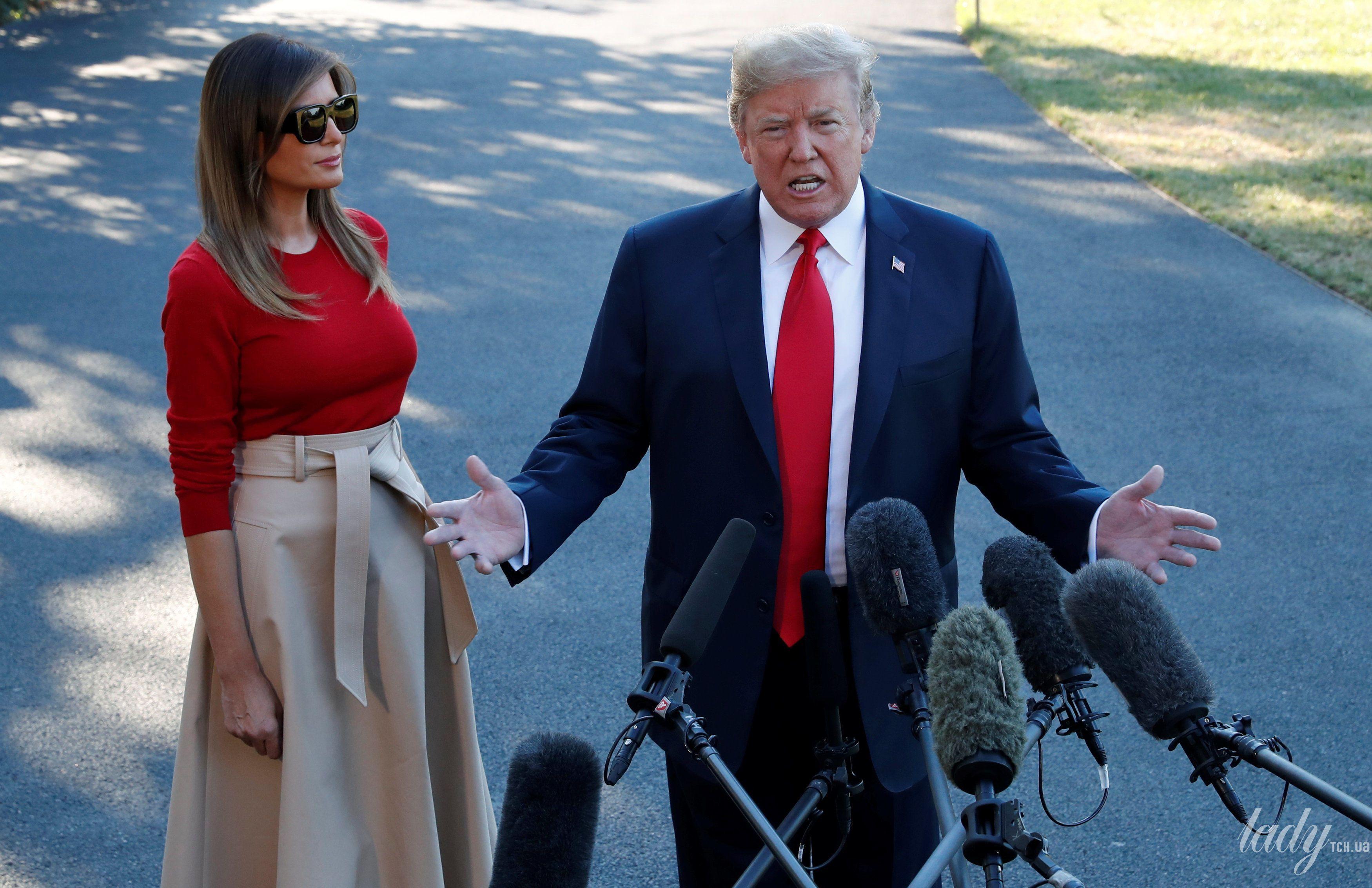 Мелания Трамп насаммите НАТО: сколько стоит одеяние первой леди?