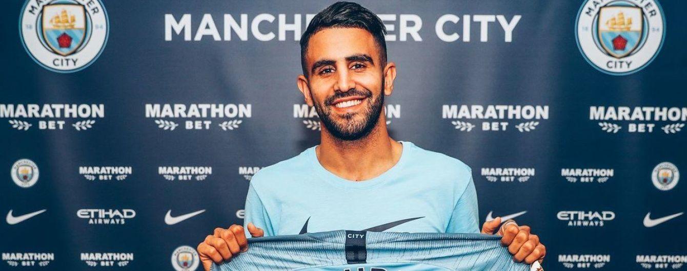 """""""Манчестер Сіті"""" встановив трансферний рекорд, підписавши алжирця за 60 мільйонів фунтів"""