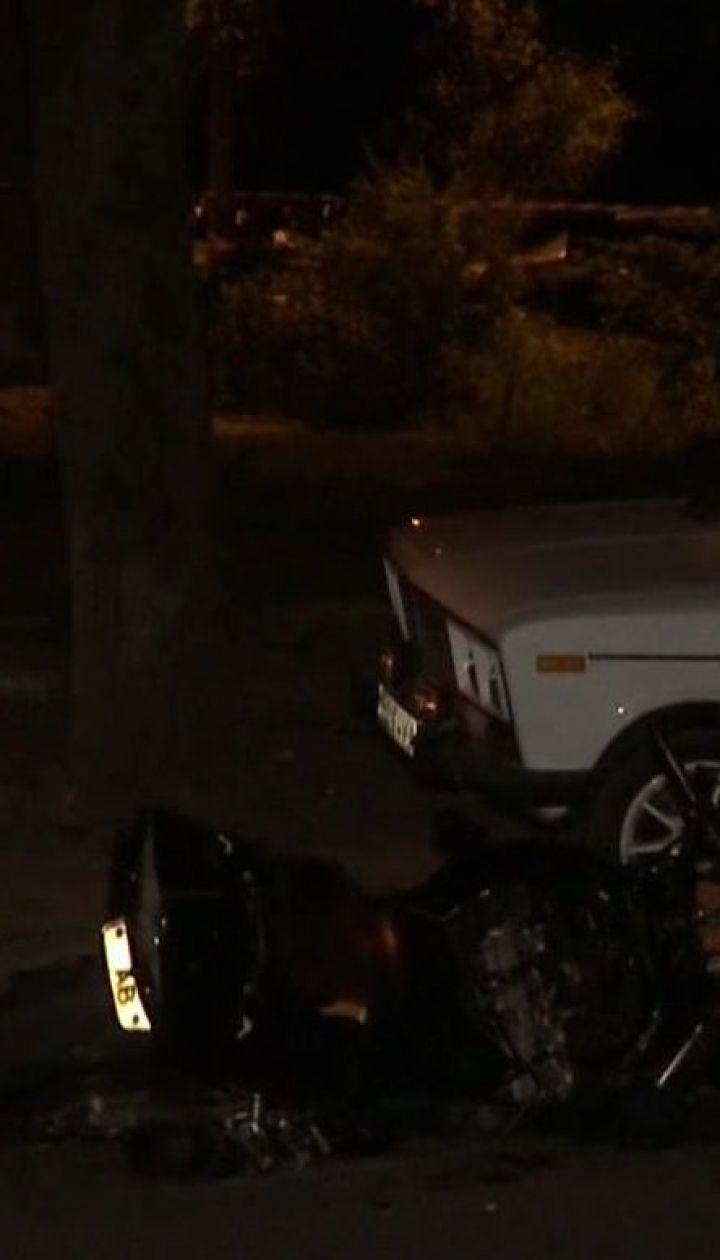 Двоє мотоциклістів загинули у ДТП у Харкові