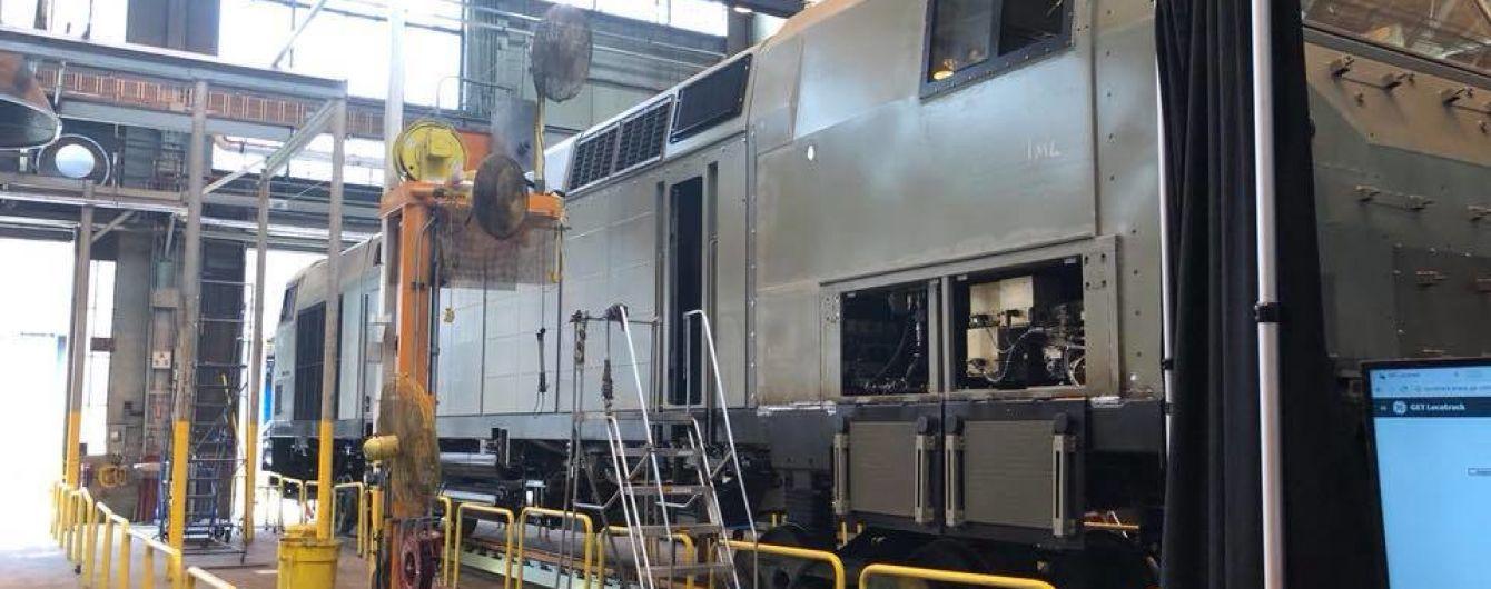 General Electric показала, як виглядатимуть нові локомотиви для українських потягів
