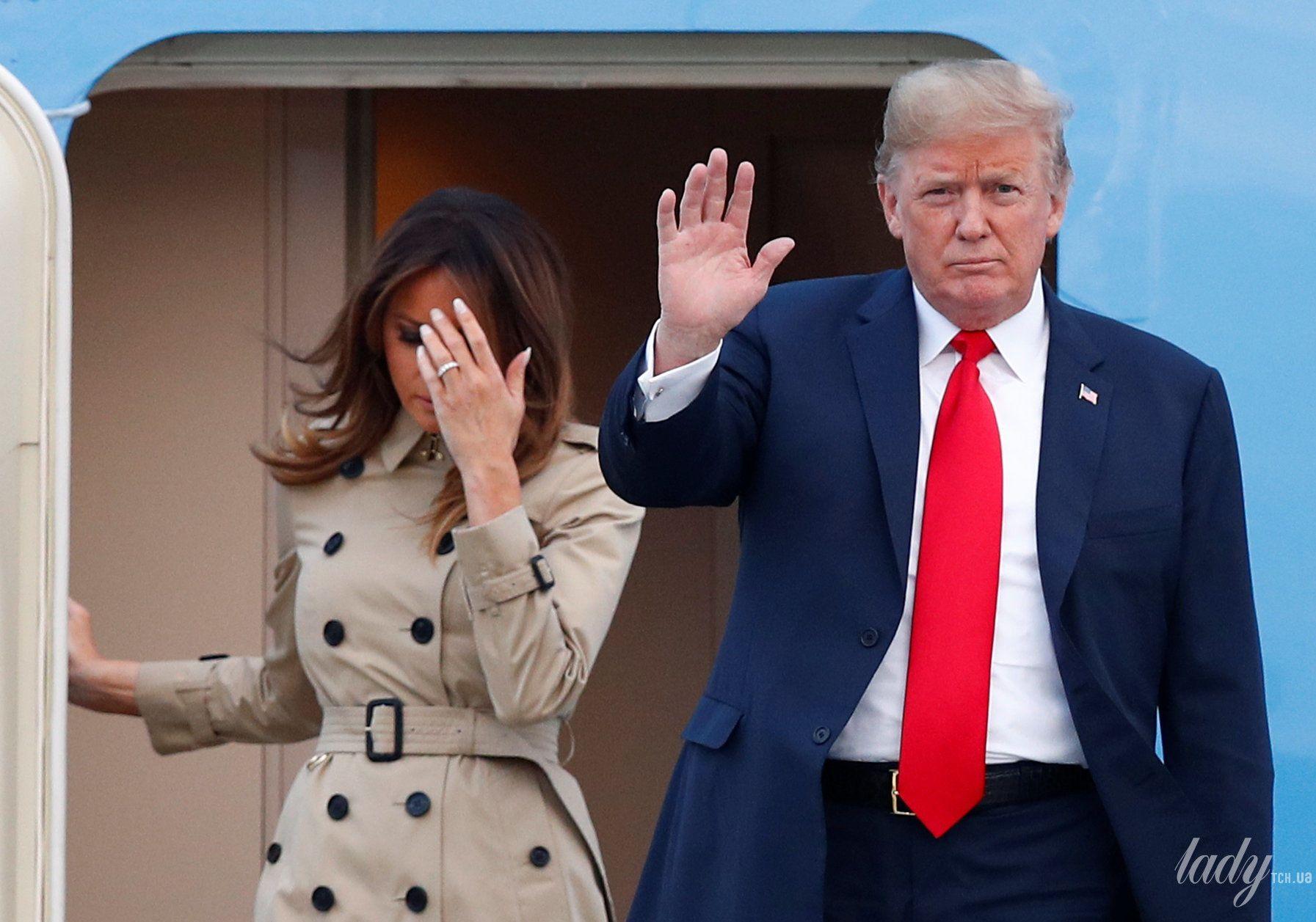 Мелания Трамп и Дональд Трамп_9
