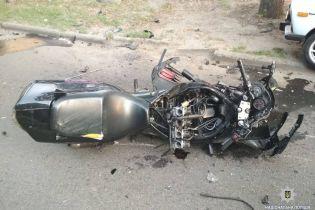 В Харькове два мотоциклиста погибли из-за столкновения с кроссовером