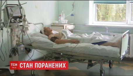 Стан трьох військових, які найбільше постраждали внаслідок вибуху на Рівненському полігоні, покращився