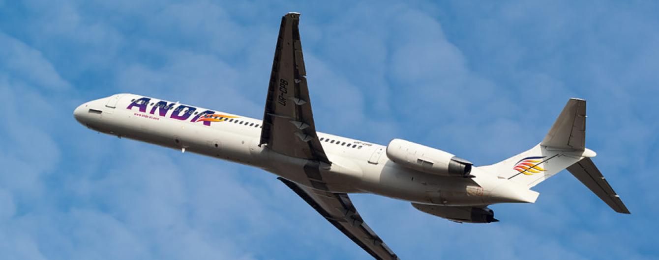 В Anda Air розповіли подробиці зіткнення літака зі зграєю птахів