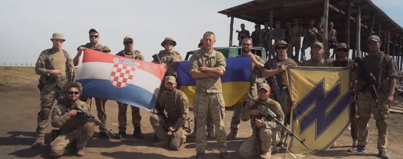 """Хорватский доброволец полка """"Азов"""" поддержал Виду и Вукоевича"""