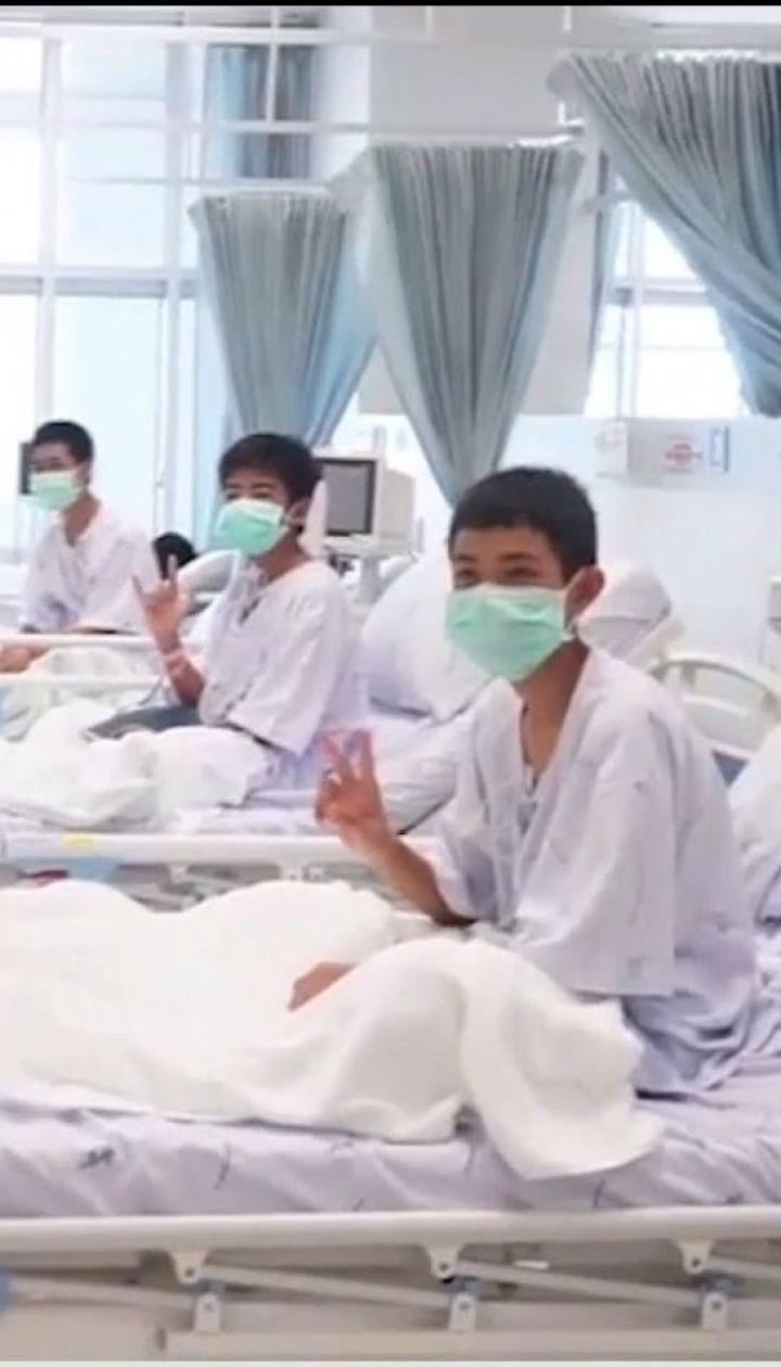 Врачи подозревают пневмонию у двух детей, которые застряли в пещере Таиланда