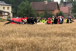 У Польщі біля житлових будинків впав гелікоптер, є загиблі
