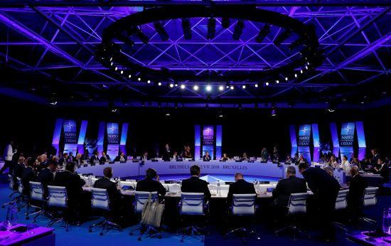Засідання комісії НАТО-Україна-Грузія та зустріч членів Альянсу з країнами партнерами. Текстовий онлайн саміту