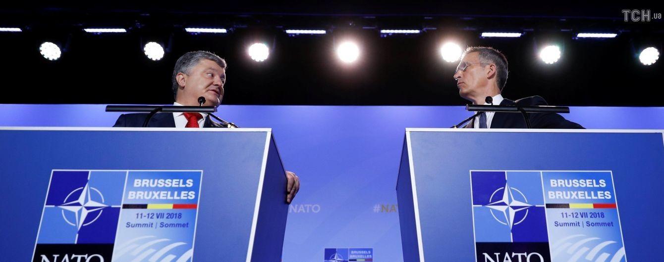 Миротворческая миссия ООН на Донбассе является позицией стран НАТО - Порошенко