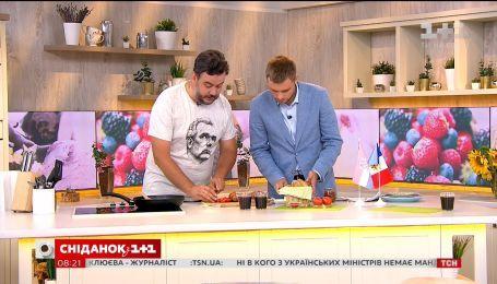 Леонид Веселков приготовил блюда финалистов Мундиаля-2018 - Франции и Хорватии