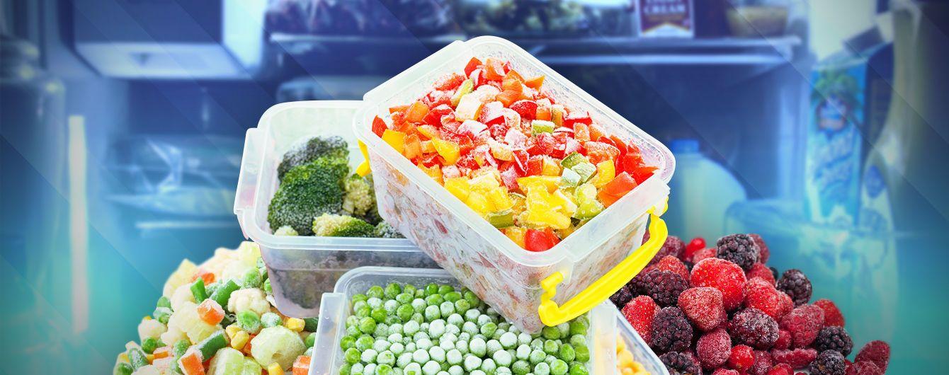 Чи корисні заморожені овочі та ягоди?