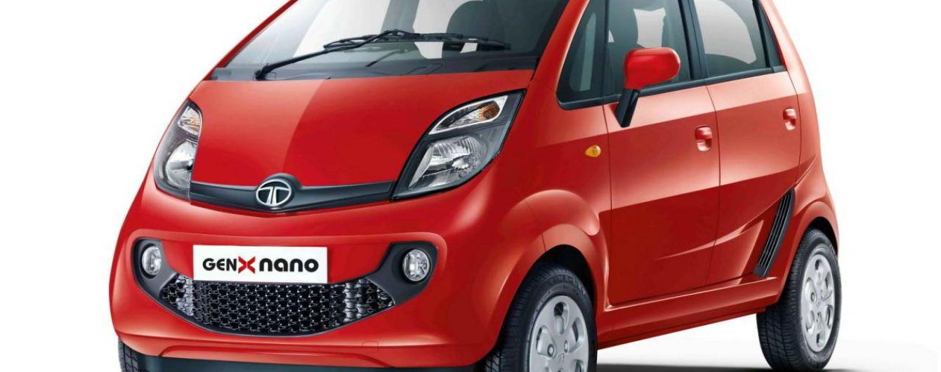 Найдешевший автомобіль Tata Nano залишає конвеєр