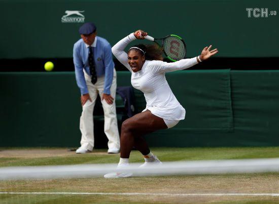 Серена Вільямс вийшла у фінал Wimbledon-2018 і може побити ще один рекорд Штеффі Граф