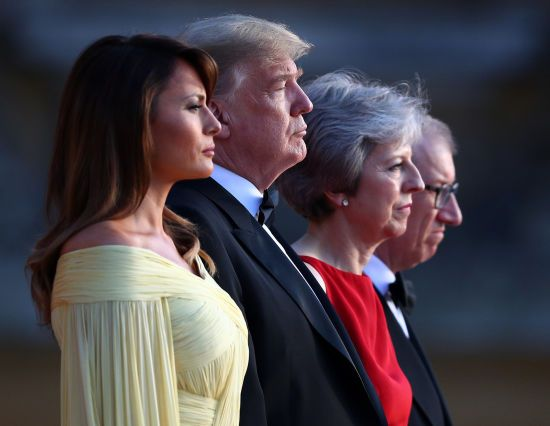 """Трамп: проект Терезы Мэй о Brexit """"убьет"""" торговое соглашение с США"""