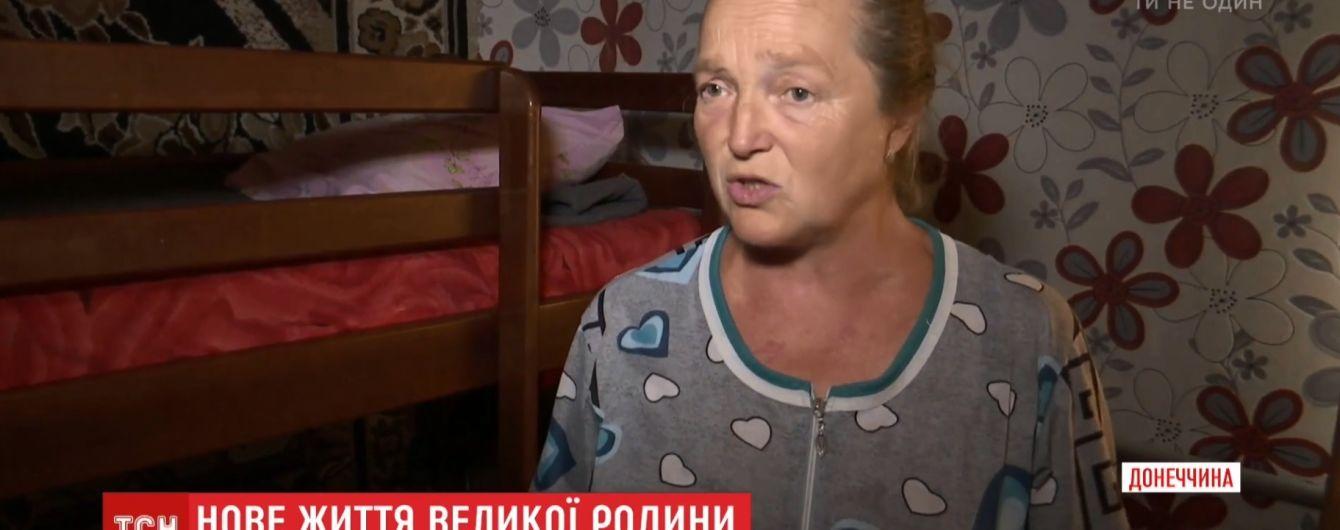 Женщина на передовой АТО воспитала 14 приемных детей
