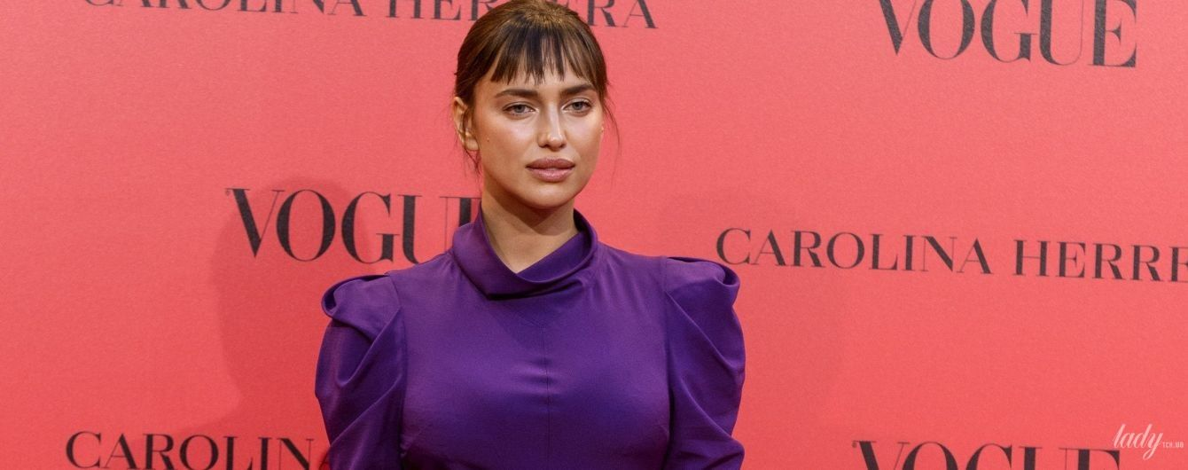 В скромном платье и с новой прической: Ирина Шейк удивила образом на вечеринке в Мадриде